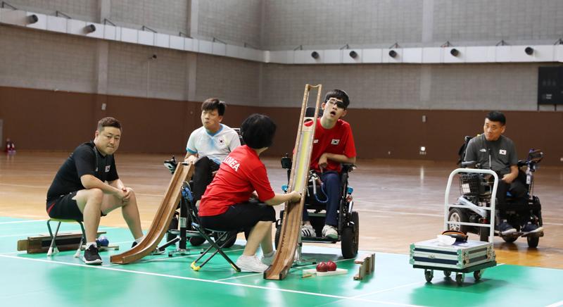 9월 19일 2018 인도네시아 장애인아시아경기대회 선수단 결단식