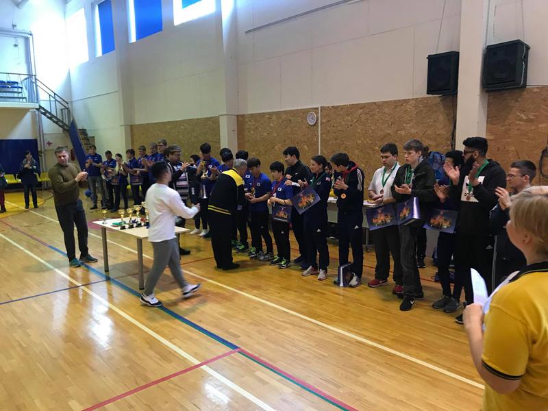 대한민국 골볼신인선수단, 국제트라카리골볼토너먼트 1위