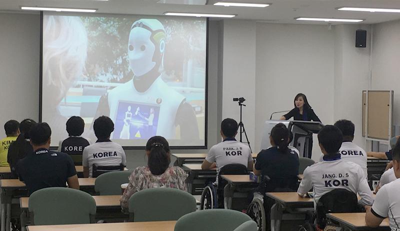 대한장애인체육회 2019 국가대표 선수단 대상 미디어 교육 실시