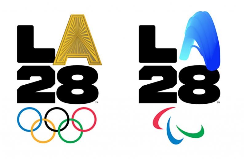 LA28 공식 엠블럼 26개 중 일부